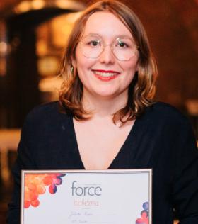 Juliette Papin, lauréate du concours Force 2019
