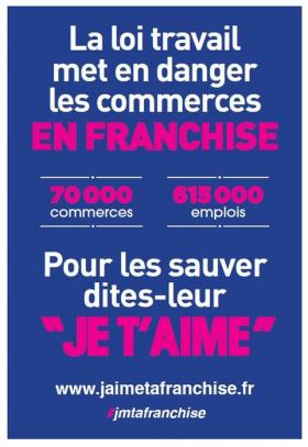 Les franchisés voient rouge et en appellent à François Hollande
