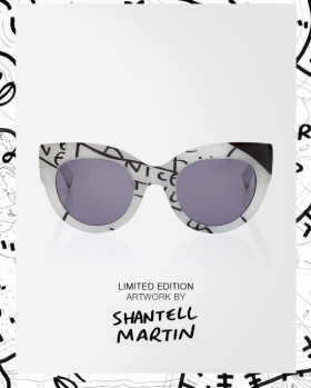 Max Mara s'associe à Shantell Martin pour une collection arty exclusive