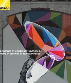 Couleurs et contrastes intenses, même en condition de faible luminosité avec le nouvel antireflet de Nikon