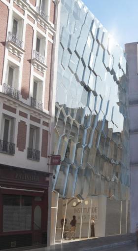 Les futurs locaux de l'Institut de l'Audition, dans le 12è arrondissement de Paris.