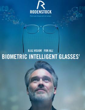 Des verres à intelligence biométrique, appelés B.I.G Vision