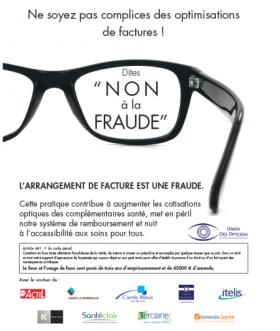 « Dites non à la fraude », la nouvelle campagne de l'UDO pour défendre l'éthique des opticiens