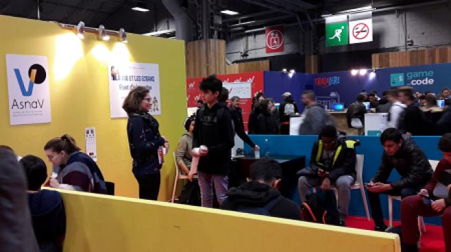 Prévention : l'Asnav dresse le bilan de la Paris Games Week