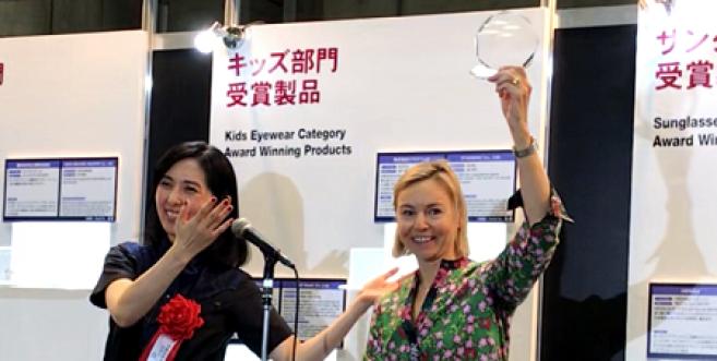 Morel distingué par le Grand prix du Japan Eyewear Award