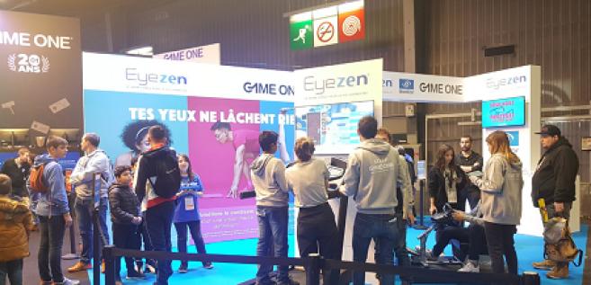 Essilor promeut ses verres Eyezen à la Paris Games Week