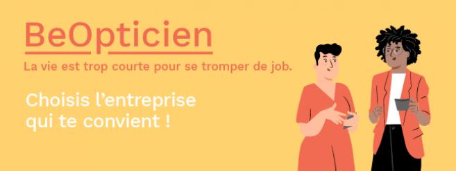 Lundi 1er mars, participez à BeOpticien, le nouvel espace facilitateur d'échange entre candidats et recruteurs