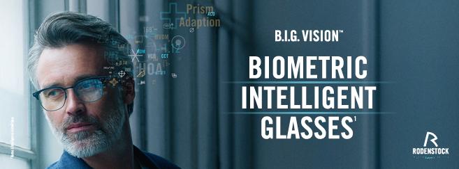 A chaque œil, son verre : B.I.G. Vision, les verres biométriques intelligents de Rodenstock