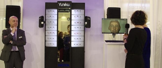 Avec Yuniku, Hoya lance le premier équipement sur-mesure avec une monture imprimée en 3D