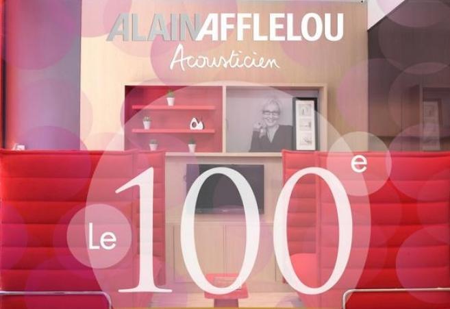 Alain Afflelou Acousticien : un 100ème centre audio et une nouvelle campagne TV