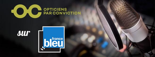 Les opticiens du Groupe all sur France Bleu