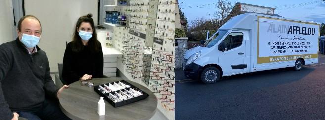 Jacky Crépin a transformé son camion en magasin