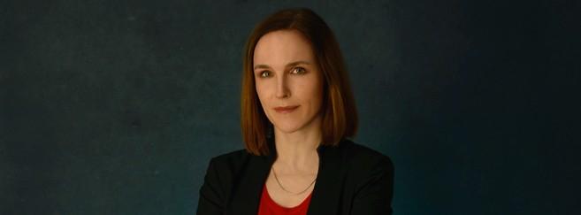 Lena Henry, directrice générale d'Essilor France