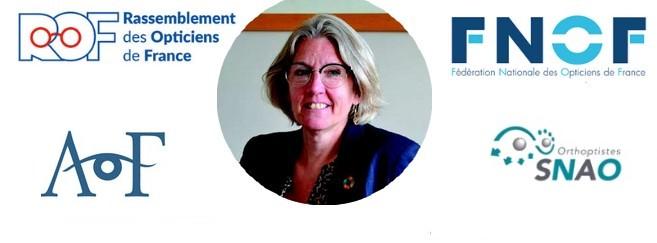 Annie Chapelier, députée qui a écrit la tribune signée par plusieurs syndicats