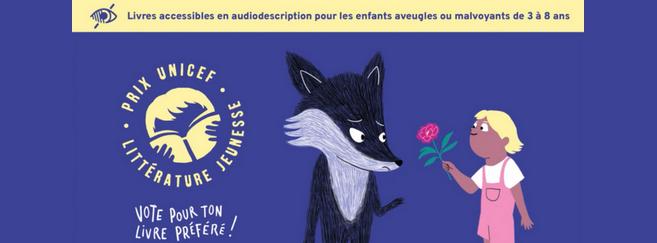 Un prix de littérature jeunesse accessible aux enfants aveugles et malvoyants