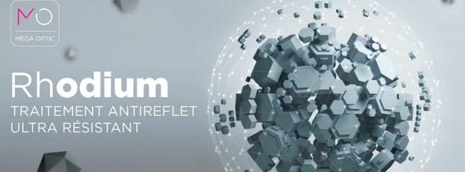 Le Rhodium : un nouveau traitement de surface dans la gamme de Mega Optic