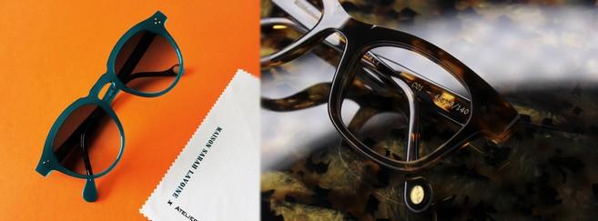 La priorité de Roussilhe : proposer aux opticiens des collections de fabrication française