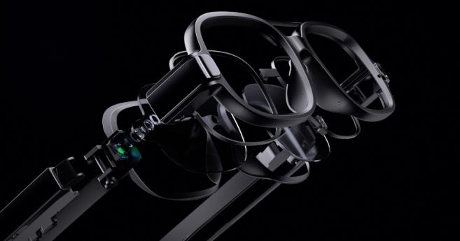 Écran à microLED, réalité augmentée et traduction auto : les folies de Xiaomi pour ses lunettes connectées