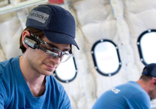 Quand Airbus utilise des lunettes connectées sur la chaîne d'assemblage des A330