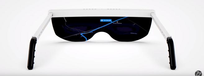 Les lunettes de réalité augmentée Apple © capture d'écran vidéo ZoneOfTech
