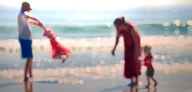 Un artiste utilise l'art pour sensibiliser le public à la myopie