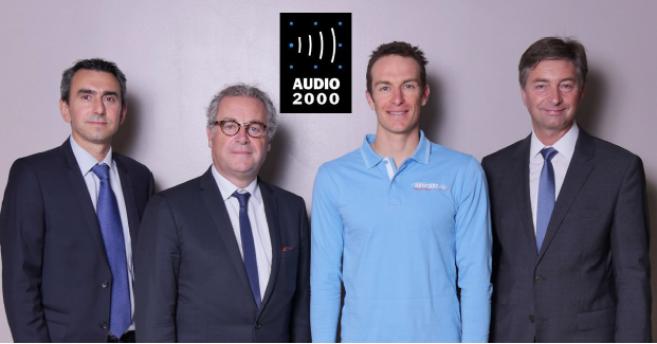 Audio 2000 partenaire de Morgan Bourc'his, champion de plongée en apnée