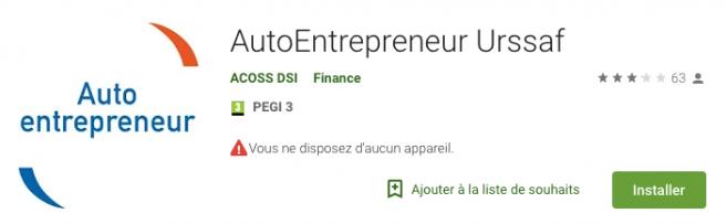 Auto-entrepreneur : une application mobile pour déclarer son chiffre d'affaires et payer ses cotisations
