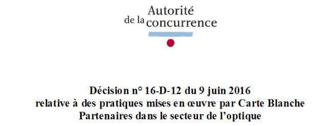 Carte Blanche : l'Autorité de la concurrence rejette la plainte de la CDO… Les réactions sur Acuité !