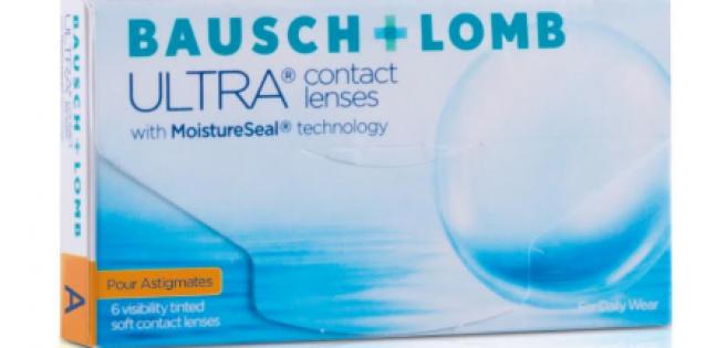 Bausch&Lomb : Ultra, nouvelle lentille mensuelle pour astigmates