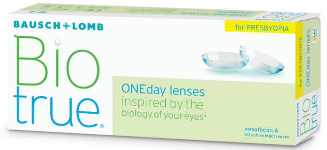 Biotrue OneDay pour presbytes, nouvelle lentille journalière multifocale de Bausch+Lomb