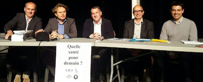 Réunion à Bordeaux : Les professionnels de santé rassemblés en masse témoignent !
