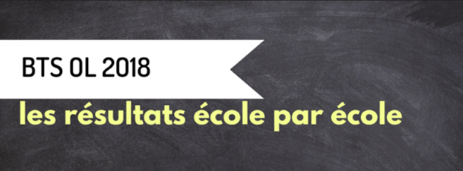 BTS OL 2018 : Les résultats école par école sur Acuité