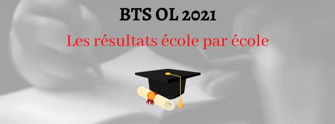 BTS OL 2021 : découvrez les résultats école par école