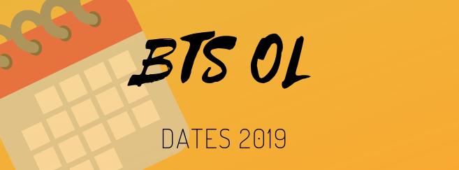 BTS OL 2019 : le calendrier des épreuves écrites et orales dévoilé !