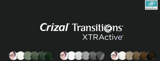 Transitions Xtractive complète la gamme photochromique d'Essilor