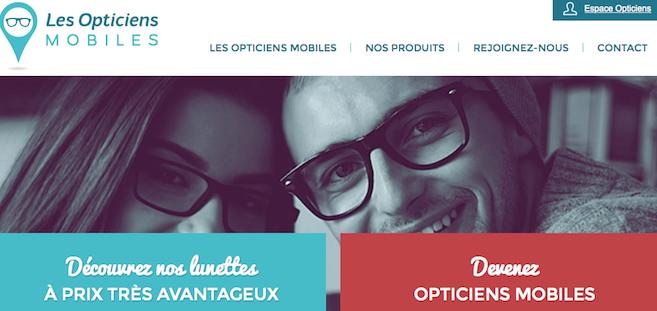 Les Opticiens Mobiles, nouveau réseau collaboratif à domicile, entend recruter