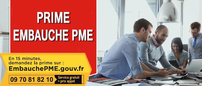 Bénéficiez de 4 000 euros de prime pour une embauche dans les PME