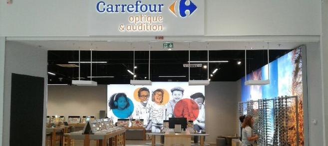 Carrefour Optique et Audition ouvre son premier magasin en France