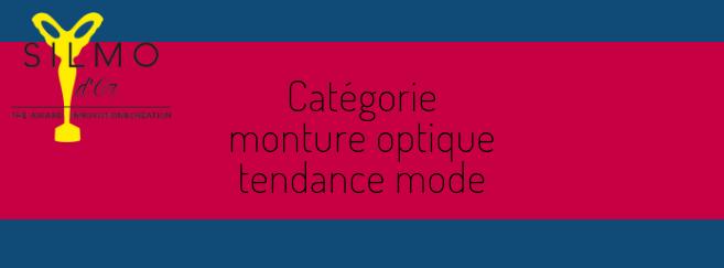 Silmo d'Or 2019 : découvrez les 5 nominés de la catégorie « Monture optique tendance mode »