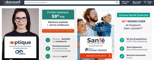 Cdiscount, numéro 2 européen du e-commerce, se lance dans l'optique