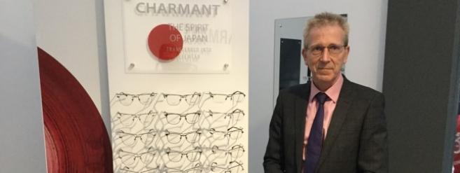 Nous avons rencontré Chris Beal lors du 100% Optical de Londres