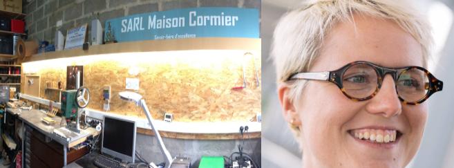 Opticienne itinérante, Clotilde Cormier s'est lancée dans la création de lunettes sur-mesure. Rencontre…