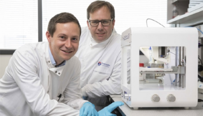 Des scientifiques fabriquent la toute première cornée imprimée en 4D