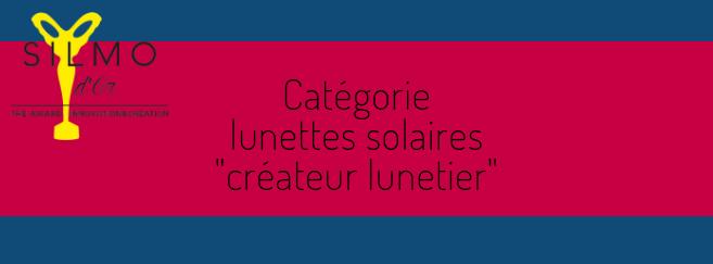 Silmo d'Or 2018 : découvrez les 5 nominés dans la catégorie « solaire créateur lunetier »