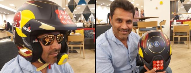 Nasser Al Attiyah, 3 fois vainqueur du Dakar, porte les solaires McLaren pour l'édition 2020