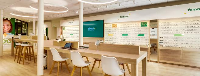 Nouveau concept de magasin Direct Optic