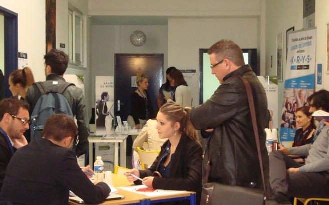 Iso Expo : des rencontres fructueuses entre enseignes et étudiants