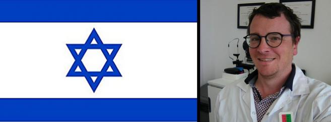 Emilien Arnold, opticien à Jérusalem