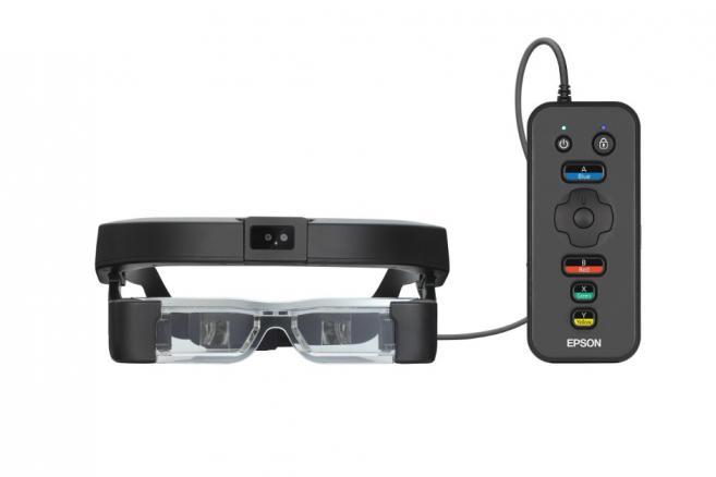 Caméra stéréo, gyroscope, GPS... Epson dévoile ses nouvelles lunettes connectées
