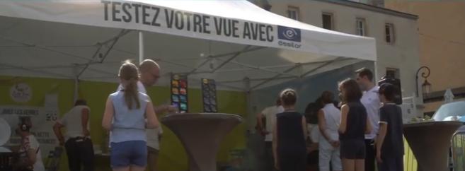 Essilor : Bilan des journées de sensibilisation menées en France